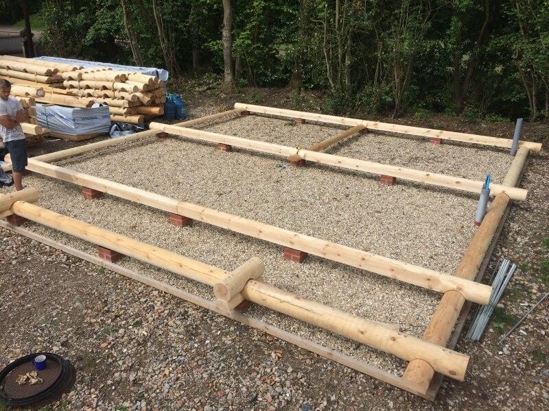 Basis houten chalet LogLiv